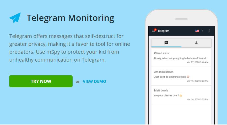 Telegram monitoring for Samsung Galaxy Z Fold 2